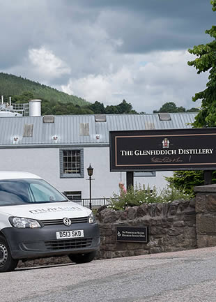 The Glenfiddich Distillery PLC remote I/O panels