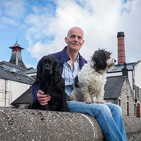 Gordon Bruce, Manager, Knockdhu Distillery